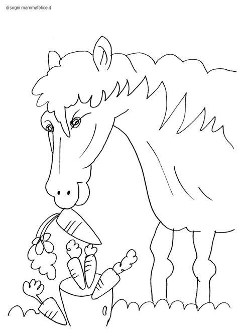cavalli da colorare per bambini piccoli ispirazione disegni da colorare bambini piccoli cavallo