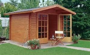 Einfache Holzfenster Für Gartenhaus : gartenh user aus blockbohlen gartenhaus ~ Articles-book.com Haus und Dekorationen