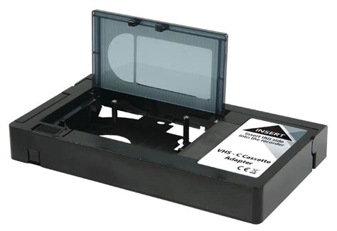 cassette vhs konig vhs c to vhs cassette adapter converts
