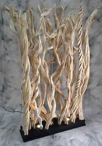 Branches Deco Interieur : paravent de lianes design clair ~ Teatrodelosmanantiales.com Idées de Décoration