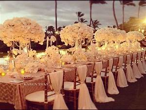 red and gold wedding decor wedding party decor With gold wedding decoration ideas