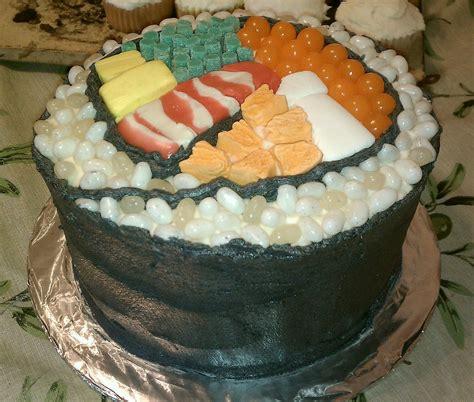 sushi birthday cake in scrubs lulu s birthday cake 2012