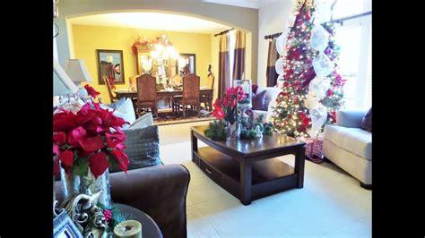 decorating  christmas christmas living room
