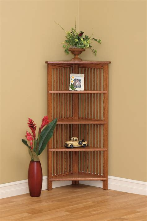 Country Mission Corner Bookcases   Town & Country Furniture