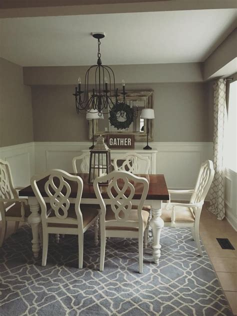 grey color room sherwin williams requisite gray farmhouse dining room