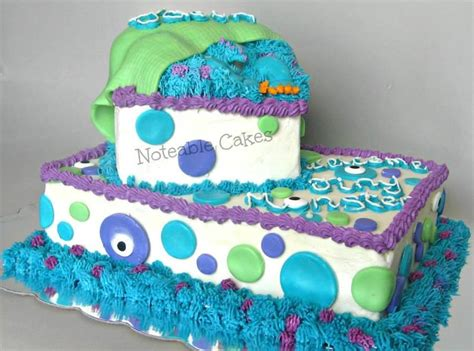 monsters  inspired baby shower cake     pic