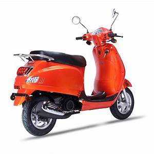 Wolf Lucky Retro 150cc Scooter