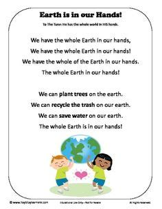 earth songs for preschoolers earth day poems and songs school poem 440