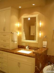 24 vanity cabinets for bathrooms best bathroom lighting for Unique vanity lighting