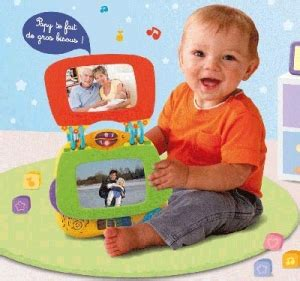 cadre album photo interactif vtech top parents fr vtech le premier cadre album photo qui donne la parole aux photos de b 233 b 233