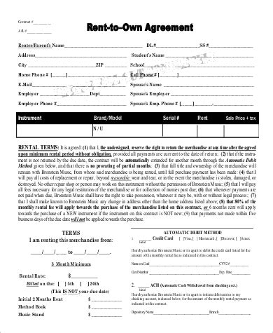 sample rent   agreement templates  ms word