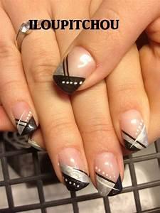 Ongles Pinterest : image deborah d co d 39 ongle en gel manucure pinterest ongles en gel ~ Melissatoandfro.com Idées de Décoration