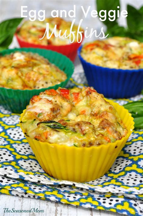 Clean Eating Breakfast Egg And Veggie Muffins The