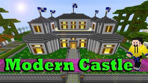 Minecraft Modern Castle Youtube