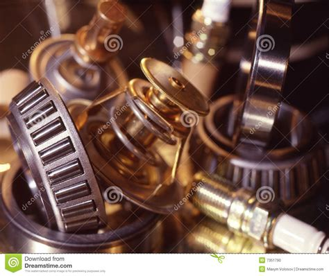 Automobile Spare Parts Stock Photo - Image: 7351790