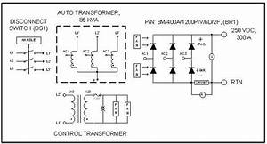 Unregulated Transformer  Rectifier Assembly  250 Vdc  300