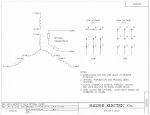 Baldor Reliance Super E Motor Wiring Diagram