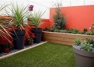 amenagement d39un balcon orange marseille agencement With photos terrasses et jardins 18 clatures de jardin en 59 idees captivantes