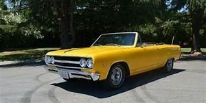 1965 Chevrolet Chevelle Malibu Yellow 0 For Sale