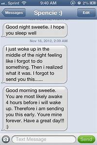 Good Morning Sweet Text Quotes QuotesGram