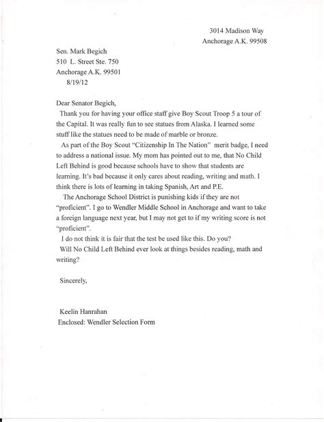 writing a letter format best template collection