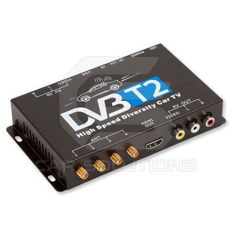 dvb t2 gebühren car dvb t2 tv receiver tuner with 4 waterproof antennas