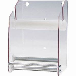 Roll Chart Holder Mount Item Wall Dispenser For 3 Quot 4 Quot Rolls