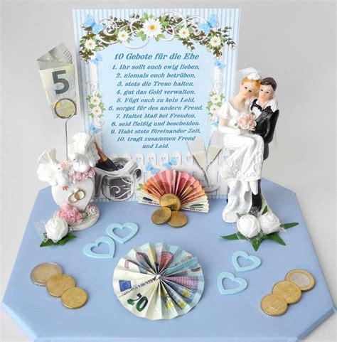 geldgeschenk zur hochzeit blauweiss geschenk brautpaar