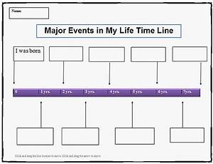 Timeline Of Events Template Word My Life Time Line Template K 5 Computer Lab Technology