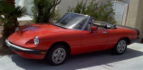 1985 Alfa Romeo Spider  Pictures Cargurus