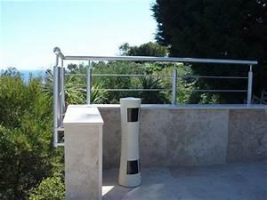 Garde Corps Terrasse Inox : garde corps tous les fournisseurs inox aluminium vitre terrasse fixe autoportant ~ Melissatoandfro.com Idées de Décoration