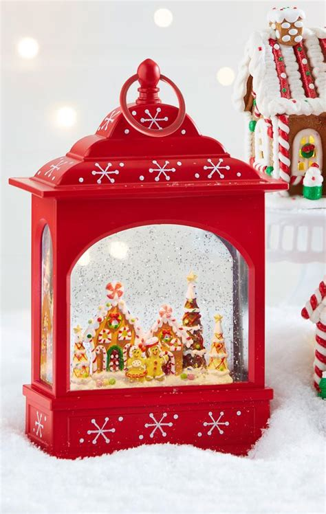 battery operated snow globes christmas snow globes gt battery operated swirling glitter lighted water lanterns