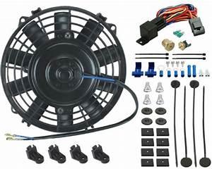 7 U0026quot  Inch Electric Fan Transmission Oil Cooler 3  8