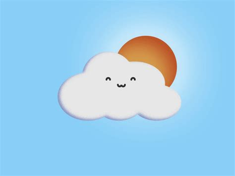 Happy Cloud, Sad Cloud By James Speed