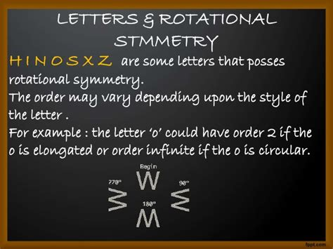 which letter has rotational symmetry rotational symmetry 40709