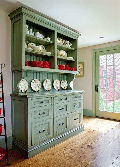 custom built  hutch  inset shaker style drawers