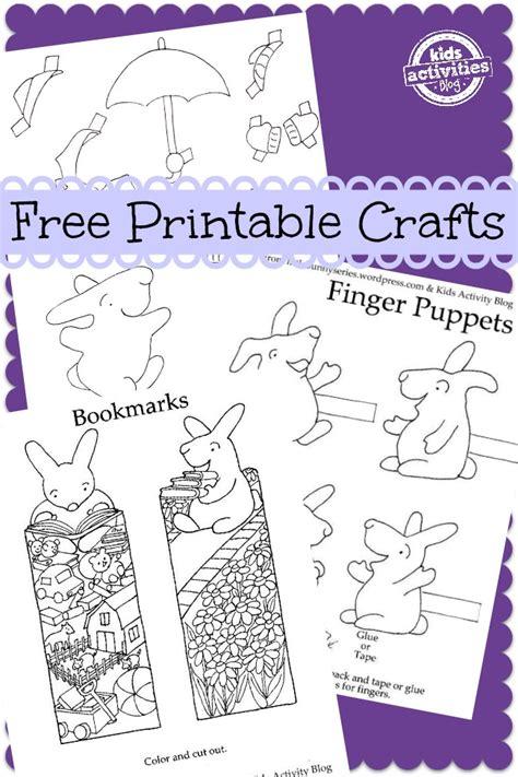 Free Kids Craft Printables