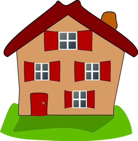 house clipart house clip at clker vector clip