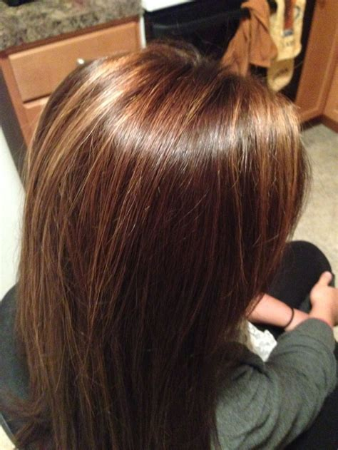 Rich Brown Hair With Caramel Highlights quot rich chocolate brown with caramel color highlights quot not