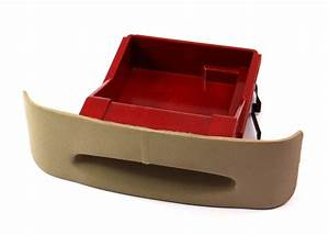 Beige Rear Ashtray Ash Tray Red Insert 99 5