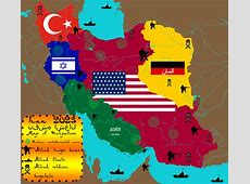 Iran Map of Occupation 2023 by IasonKeltenkreuzler on