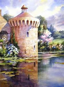 Watercolor Painting Demonstration Step