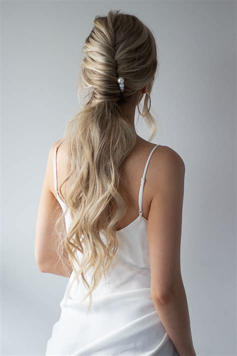 simple prom hairstyles  perfect  long hair alex