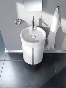 Duravit starck wall mounted 450mm vanity unit and 470mm for Duravit starck