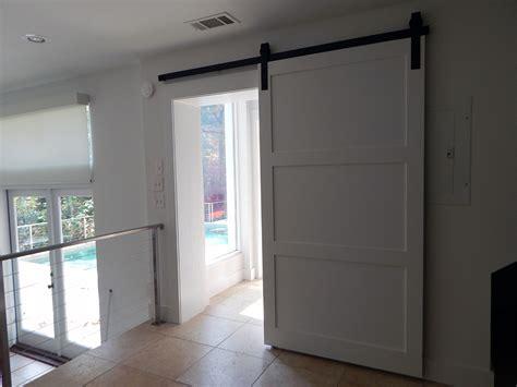modern barn doors modern three panel barn door