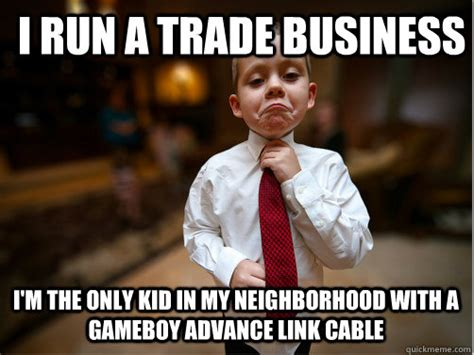 Business Kid Meme - pin 90s kids meme quickmeme on pinterest