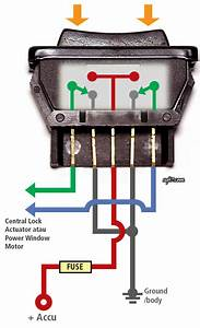 Pin Power Window Switch Wiring Diagram