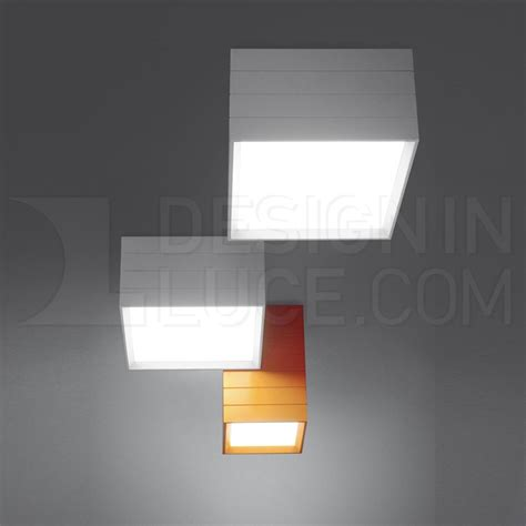 artemide groupage  lampada da soffitto designinluce