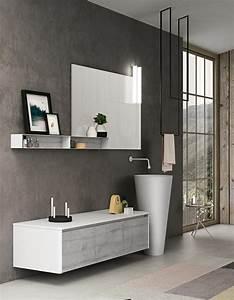 Deco Meuble Design : 35 salles de bains design elle d coration ~ Teatrodelosmanantiales.com Idées de Décoration