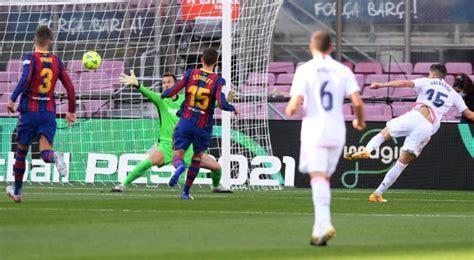 Ver GOL de Federico Valverde hoy Barcelona vs Real Madrid ...